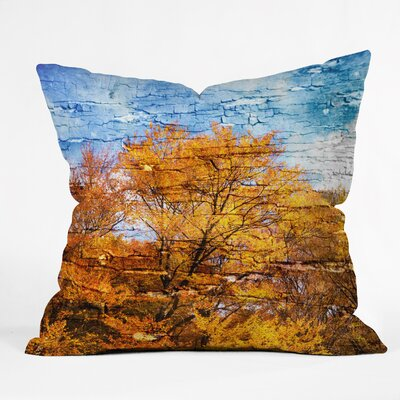 An Autumn Day Throw Pillow Size: 16 H x 16 W x 4 D