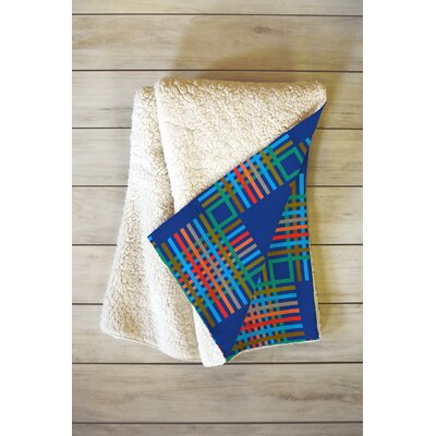 Holli Zollinger Cross Hatch Throw Blanket