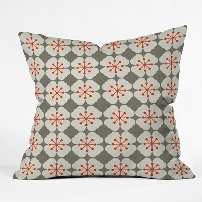Flowerjacks Indoor/Outdoor Throw Pillow
