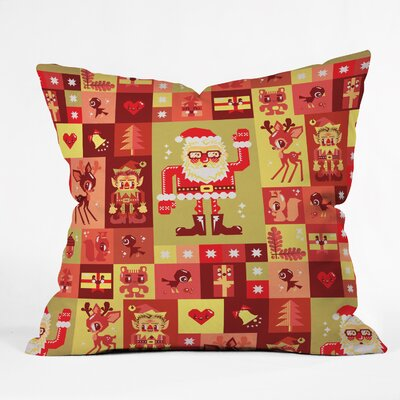 Christmas Indoor/Outdoor Throw Pillow