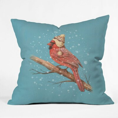First Snow Indoor/Outdoor Throw Pillow