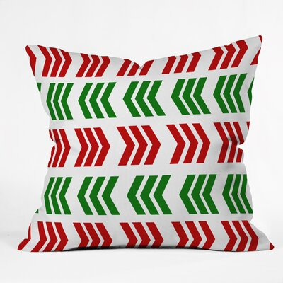 Zig Zag Indoor/Outdoor Throw Pillow