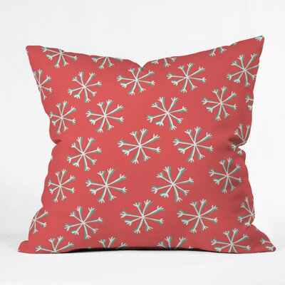 Snow Indoor/Outdoor Throw Pillow