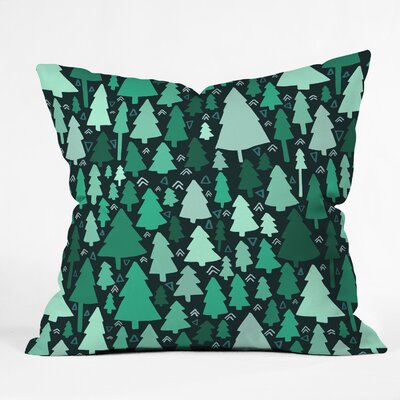 Leah Flores Wild and Woodsy Indoor/Outdoor Throw Pillow