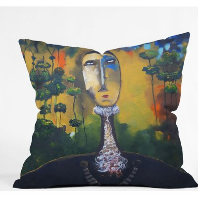 Forest For Trees Outdoor Throw Pillow