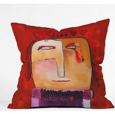 Outdoor Throw Pillow Size: 20 H x 20 W x 6 D