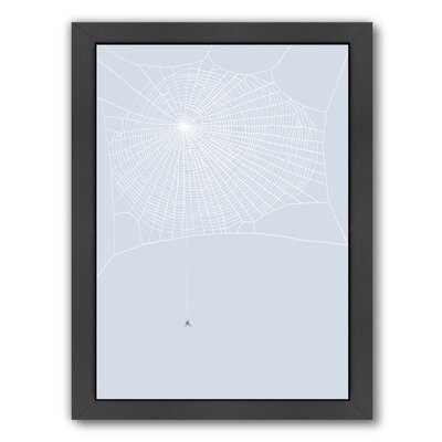 Spider and Web Framed Graphic Art UNFP7495 33491852