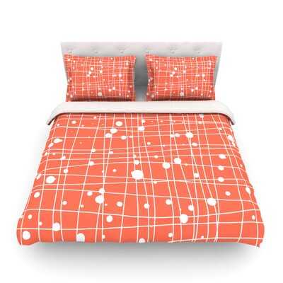Woven Web by Budi Kwan Featherweight Duvet Cover Size: Twin