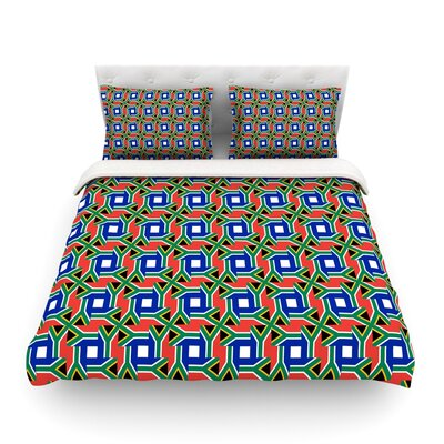 South Africa by Bruce Stanfield Featherweight Duvet Cover Size: Twin