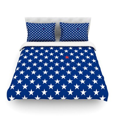 Star by Bruce Stanfield Featherweight Duvet Cover Size: King