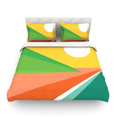 Beach by Budi Kwan Featherweight Duvet Cover Size: Twin