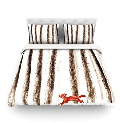 Run and Roam by Budi Kwan Featherweight Duvet Cover Size: King