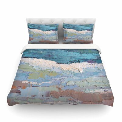 On the Beach Featherweight Duvet Cover Size: Full/Queen