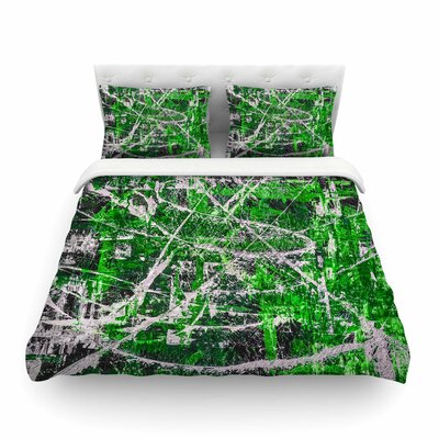 Jade Painting by Bruce Stanfield Featherweight Duvet Cover Size: King