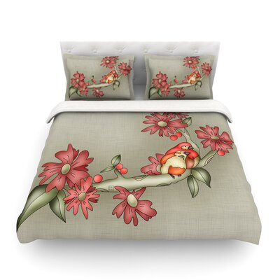 Feng Shui by Carina Povarchik Featherweight Duvet Cover Size: King