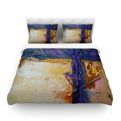 Royal Colors by Carol Schiff Featherweight Duvet Cover Size: King