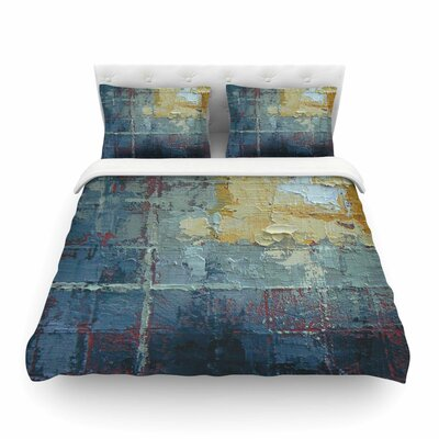 Indecision by Carol Schiff Featherweight Duvet Cover Size: King