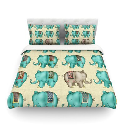 Dreamy Ellie by Carina Povarchik Featherweight Duvet Cover Size: Twin