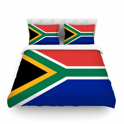 South Africa by Bruce Stanfield Featherweight Duvet Cover Size: King