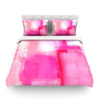 Running Late Featherweight Duvet Cover Size: Twin