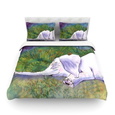 Ernies Dream by Catherine Holcombe Featherweight Duvet Cover Size: King