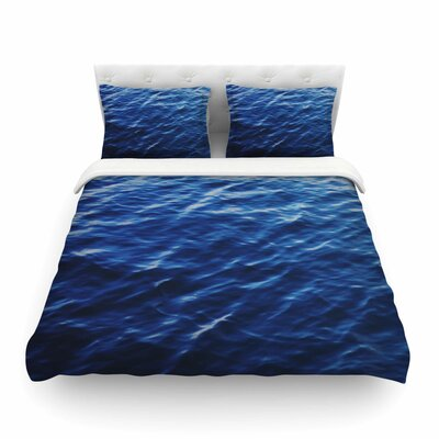 Sea Calm Nature by Chelsea Victoria Featherweight Duvet Cover Size: Full/Queen