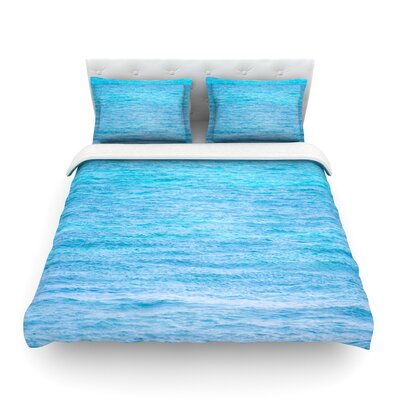 South Pacific by Catherine McDonald Featherweight Duvet Cover Size: King