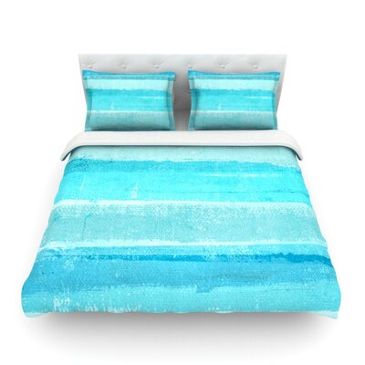 Sand Bar Featherweight Duvet Cover Size: King