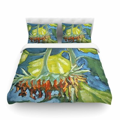 Summers End by Carol Schiff Featherweight Duvet Cover Size: Full/Queen