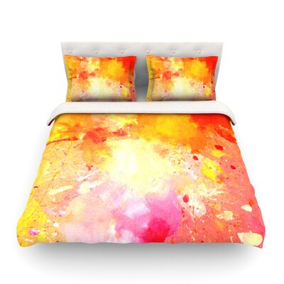 Splash by CarolLynn Tice Featherweight Duvet Cover Size: Twin