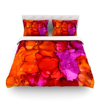 Fierce by Claire Day Featherweight Duvet Cover Size: King