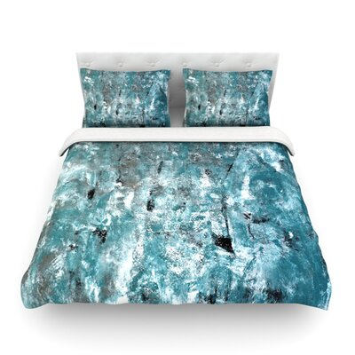 Shuffling by CarolLynn Tice Featherweight Duvet Cover Size: King