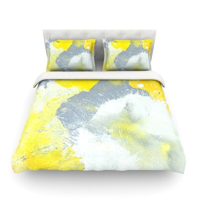 Make a Mess by CarolLynn Tice Featherweight Duvet Cover Size: Full/Queen