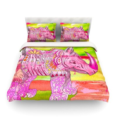 Pretty by Catherine Holcombe Featherweight Duvet Cover Size: King