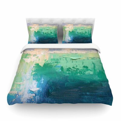 Sea Music Painting by Carol Schiff Featherweight Duvet Cover Size: King