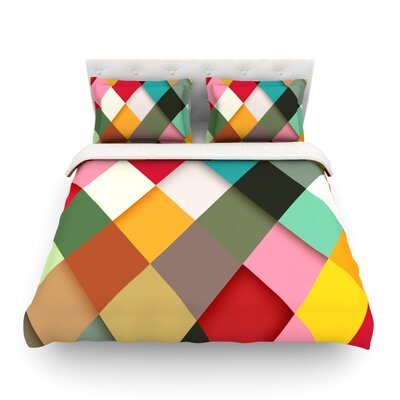 Colorful by Danny Ivan Featherweight Duvet Cover Size: Twin