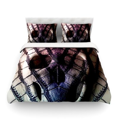 Skull by Danny Ivan Featherweight Duvet Cover Size: King