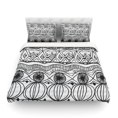 Blanket of Confusion by Catherine Holcombe Featherweight Duvet Cover Size: King