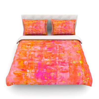Wiggle by CarolLynn Tice Featherweight Duvet Cover Size: King