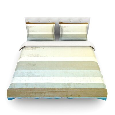 Invent by CarolLynn Tice Featherweight Duvet Cover Size: Full/Queen
