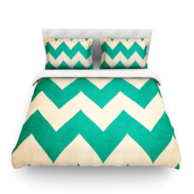 2013 by Catherine McDonald Featherweight Duvet Cover Size: Twin