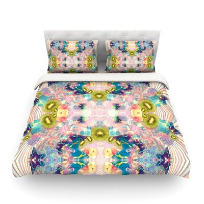 LSD by Danii Pollehn Featherweight Duvet Cover Size: Full/Queen