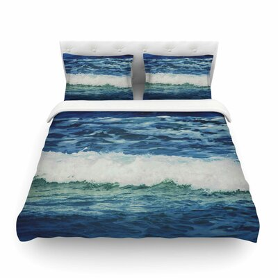 Sink Back Into Coastal by Chelsea Victoria Featherweight Duvet Cover Size: Full/Queen