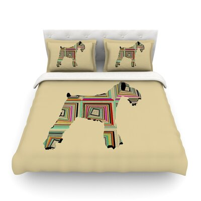 Schuavzer by Bri Buckley Featherweight Duvet Cover Size: Twin