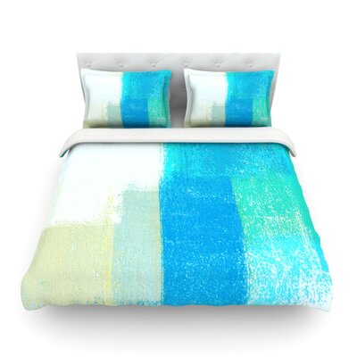 Shallow by CarolLynn Tice Featherweight Duvet Cover Size: King
