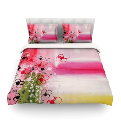 Spring Dreams by Cathy Rodgers Featherweight Duvet Cover Size: King