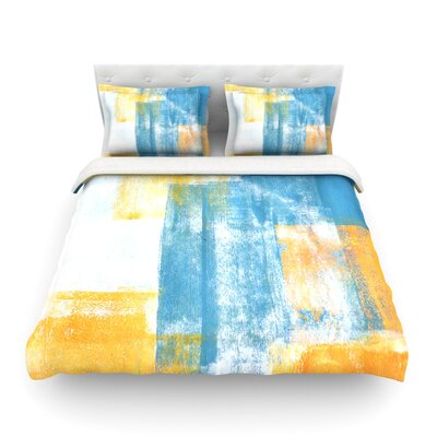 Color Combo by CarolLynn Tice Featherweight Duvet Cover Size: King