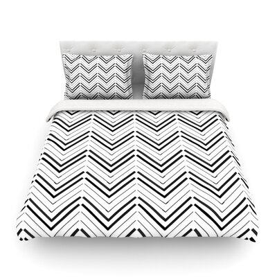Distinct by CarolLynn Tice Featherweight Duvet Cover Size: Twin