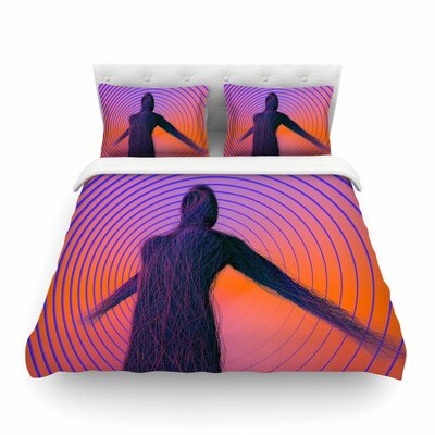 Human Soul by Danny Ivan Featherweight Duvet Cover Size: Full/Queen