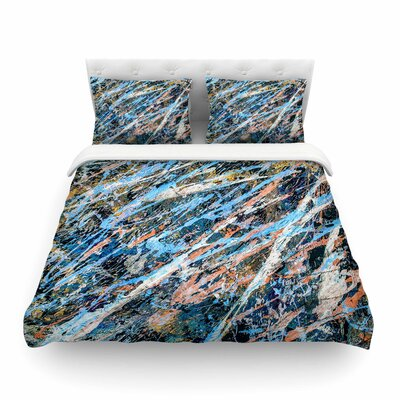 Cobalt One by Bruce Stanfield Featherweight Duvet Cover Size: Full/Queen